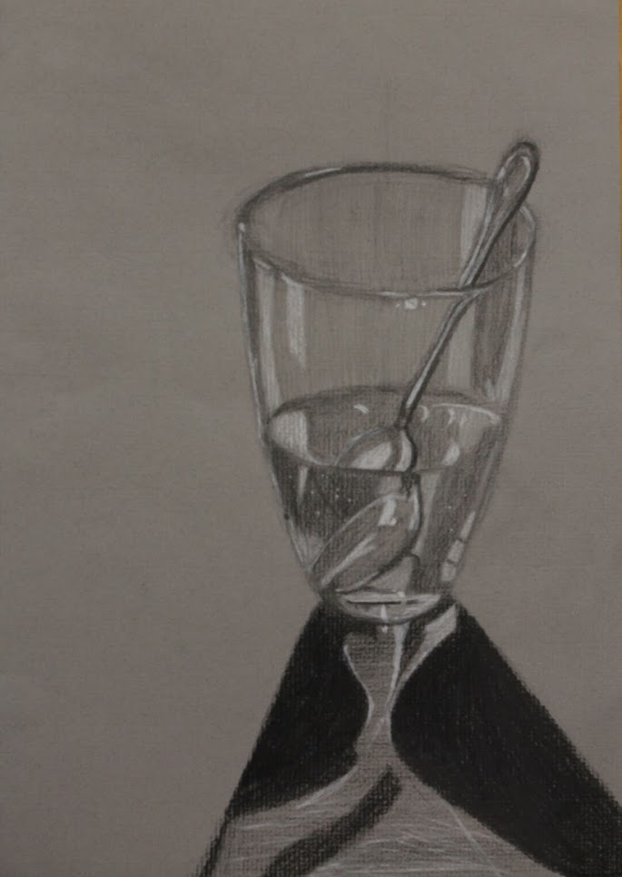 glass drawing